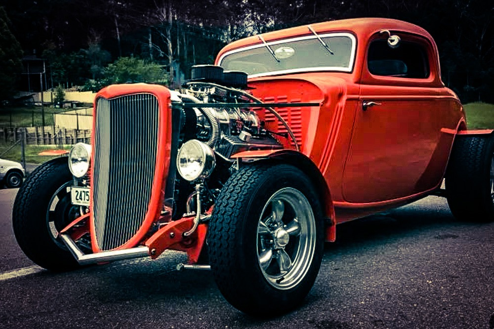 Troy O'Brien Hot Rod