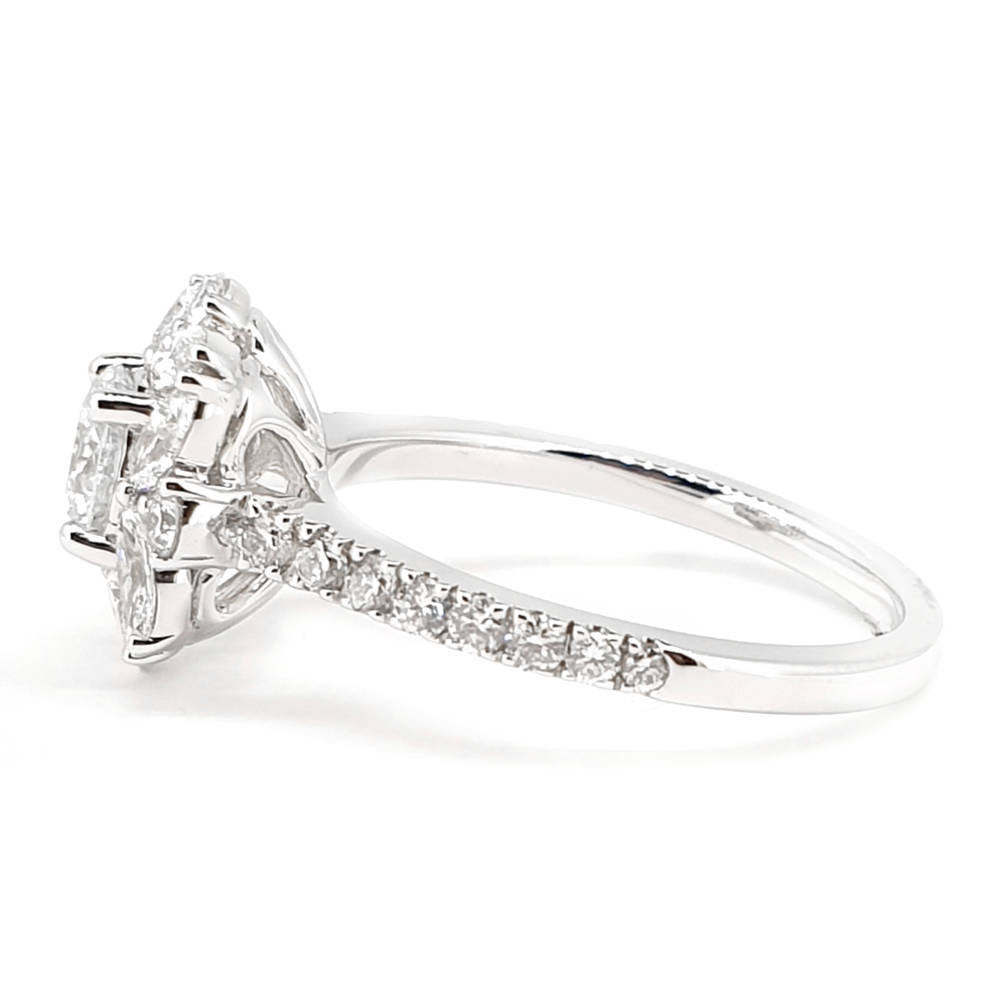 Art Deco Inspired Diamond Ring