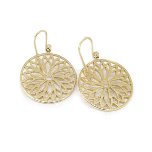 Beautifully Pierced Design Earrings