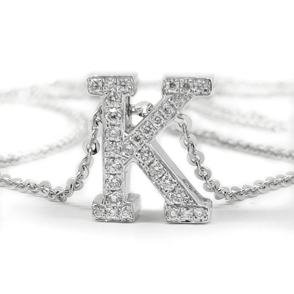 Diamond Set Letters