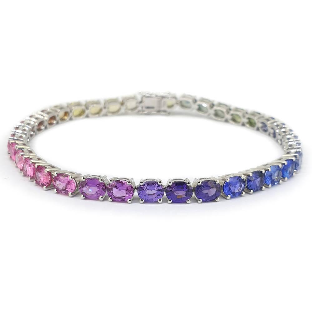 Stunning Sapphire Bracelet
