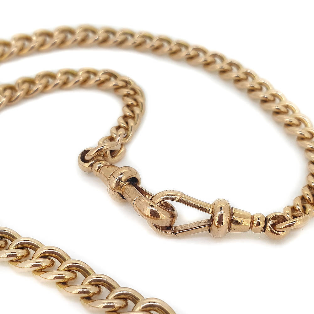 Handmade 9ct Gold Fob Chain