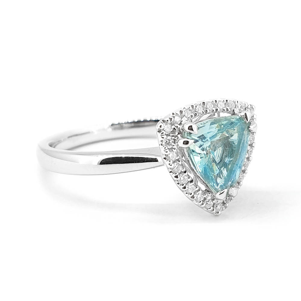 Timeless Aquamarine Ring
