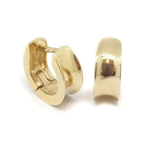 14ct Yellow Gold Huggie Earrings