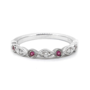 Pretty Pink Sapphire Ring