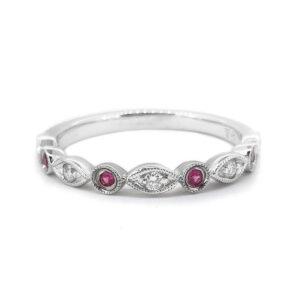 Pretty Pink Sapphire Ring