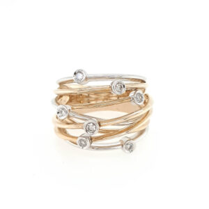 Diamond Wire Ring