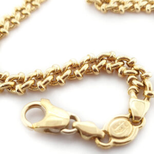 18ct Fancy link bracelet