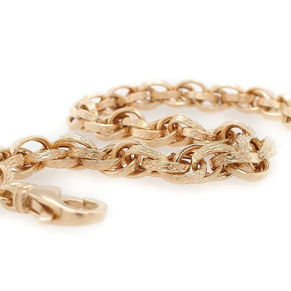 Triple Link Belcher Bracelet