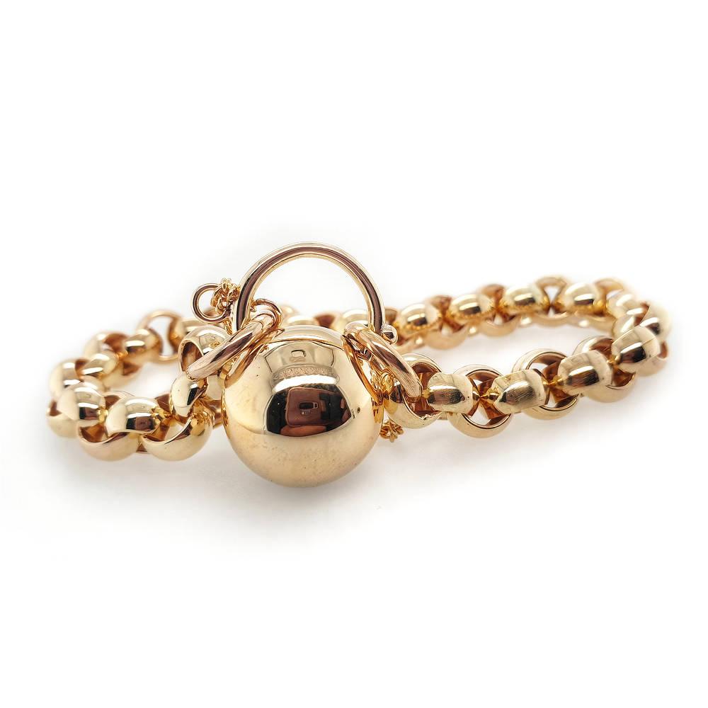 Troy O'Brien Ball Padlock Bracelet