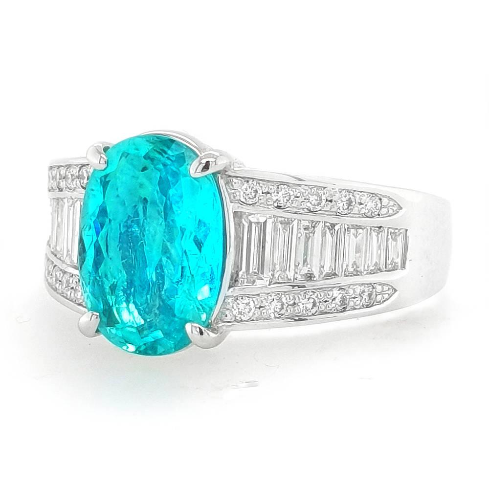 Rare Paraiba Tourmaline Ring